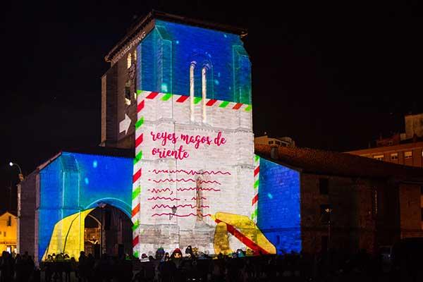 video-mapping-Iglesia-de-Santa-María-la-Real-y-Antigua-de-Gamonal-1